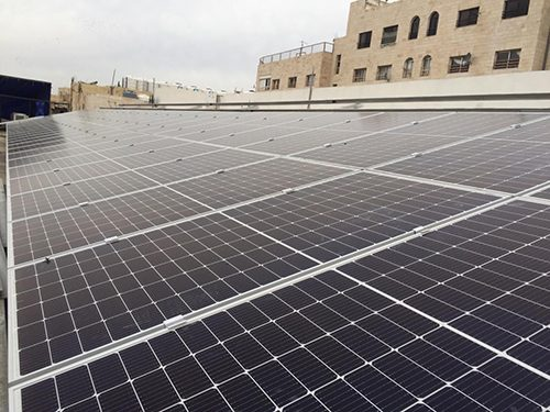 Golden fitness center, Abu\'Alandh, Amman, 102.6 KW - Canadian Solar CSU-380W